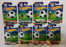 2016 HOT WHEELS WORLD CUP SOCCER FOOTBALL SERIES COMPLETE SET OF 8