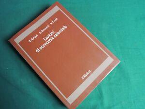 *L68*-G.AIROLDI - LEZIONI DI ECONOMIA AZIENDALE - IL MULINO -1989 STUDIO AZIENDA