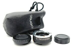 SOLIGOR 1.7x TELECONVERTER for PENTAX 110 - UK DEALER