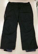 Mens COLUMBIA Omni Tech Wind Waterproof Breathable Pants Black 2XL Sportwear