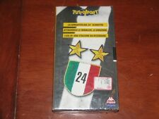 VENTIQUATTRESIMOSCUSETTO 24° SCUDETTO JUVENTUS // KAPPA VIDEO STAR  VHS NEW