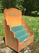RARE Early Original PACKARD Shoe Polish Display Store Advertising Sign