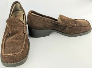 Colorado Women's Loafer Shoes Size 6.5 Brown Leather Upper Excellent Condition