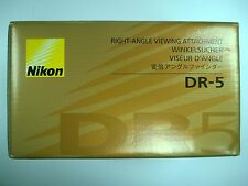 Genuine Nikon DR-5 Right-Angle finder Viewing Attachment Original