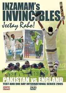 Inzamam's Invincibles Pakistan Vs England - 2 disc set - 1 day test series 2005