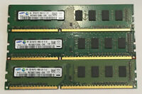 2 GB RAM Speicher DDR3 PC3-10600U 1333 MHz Arbeitsspeicher SAMSUNG 1R 2R PC