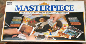 Masterpiece by Parker Games 1987. All Playing Parts Are Present.