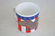 Vintage Mug NIAGARA FALLS Golden Eagle Red White Blue Collectible Display Gift