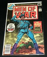 ☆☆ Men of War #16 ☆☆ (DC) Grave Digger - Joe Kubert Art - FREE Shipping