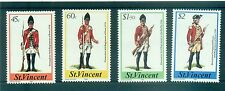 UNIFORMES MILITAIRES - MILITARY UNIFORMS ST. VINCENT 1984