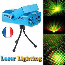 Mini LED R&G Laser Projecteur Lumières Stage Party DJ Disco Eclairage Lamp Bleu