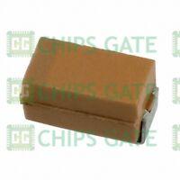 200PCS AVX Tantalum capacitor TAJA106K016RNJ 10uf 3216