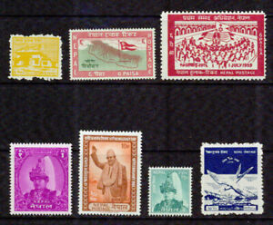 NEPAL  -1958-1962 –COLLECTION -VF**