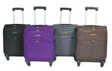 Spinner (4) Up to 40L Suitcases with Extra Compartments