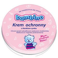 BAMBINO krem ochronny z tlenkiem cynku dla niemowląt łagodzi podrażnienia 150 ml