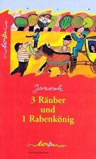 ★ Janosch 3 Räuber und 1 Rabenkönig Eine wilde Räubergeschichte Kinderbuch NEU ★