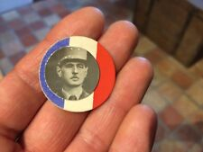 broche patriotique papier DE GAULLE  WW2