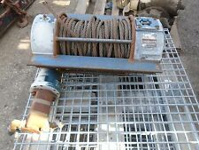 Ramsey Winch Hydraulic Model H800R 20000lb - Good Condition