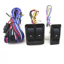 For CHEVROLET SILVERADO GMC SIERRA 12V Power Window Switch Kit With Wire Harness