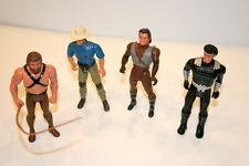 Kenner Action Figure Lot Of 4 FREE SHIPPING!