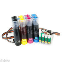 Compatible Continuous Ink Supply System R2 for Epson Workforce WF-2750 2760 CISS