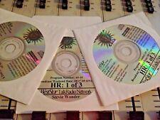 RADIO SHOW: GODDARD'S GOLD 8/27/05 STEVIE WONDER w/15+INTERVIEWS & 50+ 60/70s