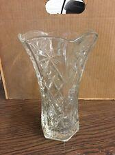 """Unbranded Glass Flower Vase 8.5"""" Tall"""