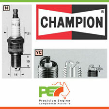 6X New *Champion* Ignition Spark Plug For Mitsubishi Pajero Nh 3.0L 6G72.