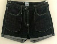 Sass & Bide Women's Size 25 Dark Grey Denim Hulsey Parks Shorts