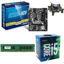 Hardwarebundle/PC Aufrüst-Kit Sockel 1151 Intel i5-7400+8GB RAM+Asrock Mainboard