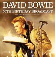 50TH BIRTHDAY BROADCAST  by DAVID BOWIE  Compact Disc  ZCCD101