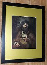 """Incorniciato 12"""" x16"""", REMBRANDT, BIBBIA dipinti, i comandanti dipinti, St. SIMON"""