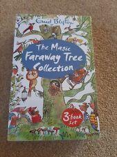 The Magic Faraway Tree Enid Blyton 3 Books Collection Box Set brand new wrapped
