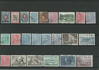 Wertvolles Lot Briefmarken Suomi Finland ab 1900 gestempelt 23 Werte