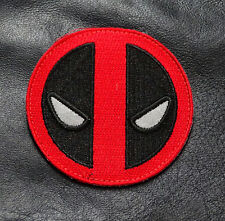 REFLECTIVE GLOW IN THE DARK DEADPOOL TACTICAL SWAT MORALE HOOK PATCH
