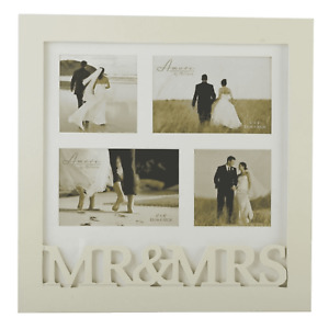 Multi Photo Frame MR & MRS Amore by Juliana 4 Photos