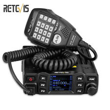 New Black Retevis RT95 Dual Band 200 Channels Mobile Car Radio VHF 144-148MHz