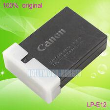 Genuine Original Canon LP-E12 Battery For LC-E12 LC-E12E charger EOS M2 KISS X7