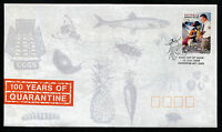 2008 100 Years of Quarantine S/A FDC First Day Cover Stamps Australia