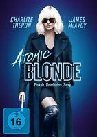 ATOMIC BLONDE  James McAvoy, Charlize Theron, Sofia Boutella DVD NEW