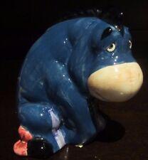 RARE Disney Eeyore Winnie the Pooh Ceramic Porcelain Figure Statue Display