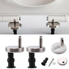 1 Pair/2 Pcs Top Fix WC Toilet Seat Hinge Fittings Quick Release Hinges DIY