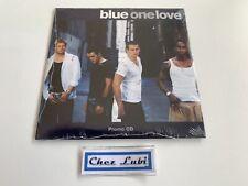 Blue - One Love - Promo CD Single - 2002 - Neuf Sous Blister
