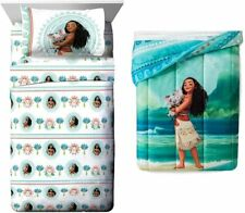 Disney Moana Pua 4 Piece Comforter Sheets Bedding Twin Set Bed in a Bag