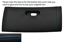BLUE STITCH TOP DASH GLOVE BOX LID LEATHER COVER FITS TOYOTA SUPRA MK4 93-02