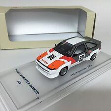 1/43 ENIF Toyota AE86 Sprinter Trueno N2 1984 TRD PROMOTION ENIF0030