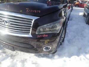Driver Headlight Xenon HID Fits 11-13 INFINITI QX56 749007