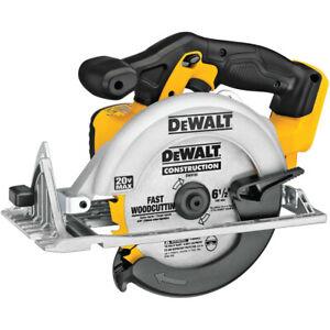 DEWALT 20V MAX Li-Ion 6-1/2 in. Circular Saw (Tool Only) DCS391B New