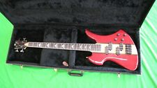 BC Rich Mockingbird Bass with Case EMGs modified Headstock