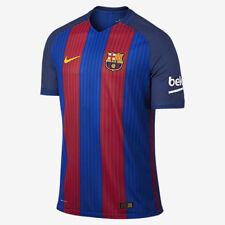 562b7b24e1 Nike FC Barcelona Vapor Match 2016 17 Home Soccer Jersey Mens L Blue 776846  481